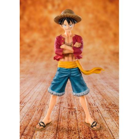 """One Piece - Figurine Monkey D Luffy """"Chapeau de Paille"""" Figuarts Zero"""