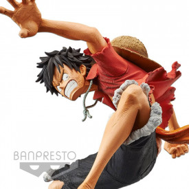 One Piece - Figurine Monkey D Luffy Stampede Movie King Of Artist
