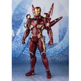Avengers Endgame - Figurine Iron Man MK50 Nano Weapon Set S.H Figuarts