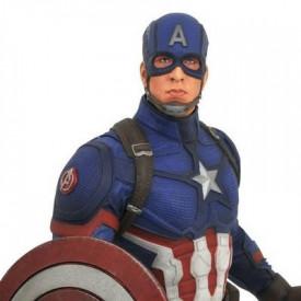Avengers Endgame - Figurine Captain America Marvel Movie Premier Collection