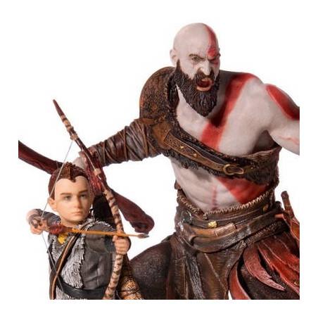 God Of War - Statue Kratos & Atreus Art Scale Deluxe Edition1/10 image