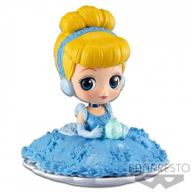 Disney Characters - Figurine Cendrillon Q Posket Sugirly Ver.A