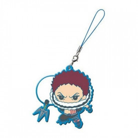 One Piece - Strap Charlotte Katakuri Capsule Rubber Mascot