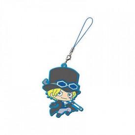 One Piece - Strap Sabo Capsule Rubber Mascot