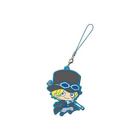 One Piece - Strap Sabo Capsule Rubber Mascot image