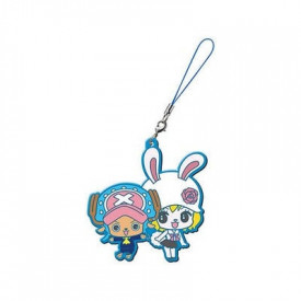 One Piece - Strap Tony Tony Chopper & Carrot Capsule Rubber Mascot