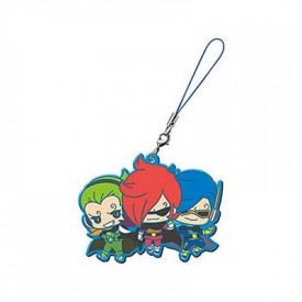 One Piece - Strap Vinsmoke Ichiji, Niji & Yonji Capsule Rubber Mascot