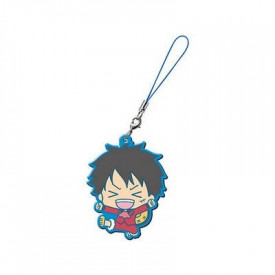 One Piece - Strap Monkey D Luffy Capsule Rubber Mascot