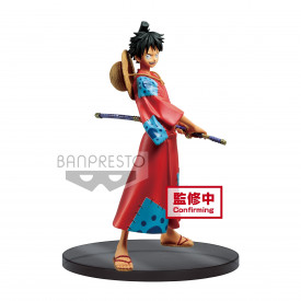 One Piece - Figurine Monkey D Luffy DXF The Grandline Men Wano Kuni Vol 1