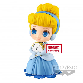 Disney Characters - Figurine Cendrillon Q Posket Sweetiny Ver.A