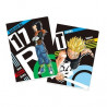 Dragon Ball Z – Pochettes A4 Future Trunks SSJ  & Android 17 Ichiban Kuji The Android Battle With Dragon Ball FighterZ