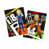 Dragon Ball Z – Pochettes A4 Son Gohan SSJ & Android 18 Ichiban Kuji The Android Battle With Dragon Ball FighterZ