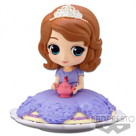 Disney Characters - Figurine Sofia Q Posket Sugirly Ver.A