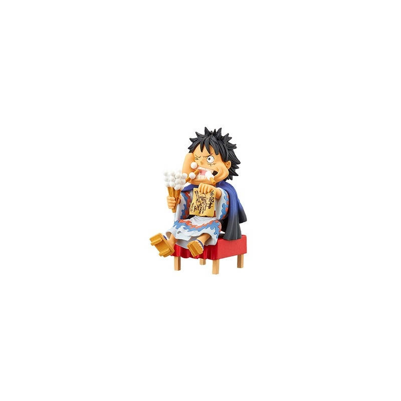 One Piece - Figurine Monkey D Luffy WCF Japanese Style