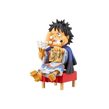 One Piece - Figurine Monkey D Luffy WCF Japanese Style image