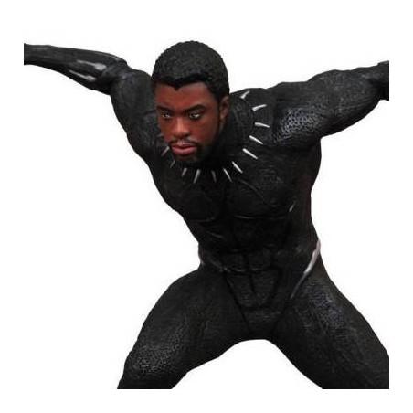 Black Panther - Figurine Black Panther Unmasked Marvel Movie Gallery image