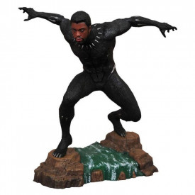 Black Panther - Figurine Black Panther Unmasked Marvel Movie Gallery