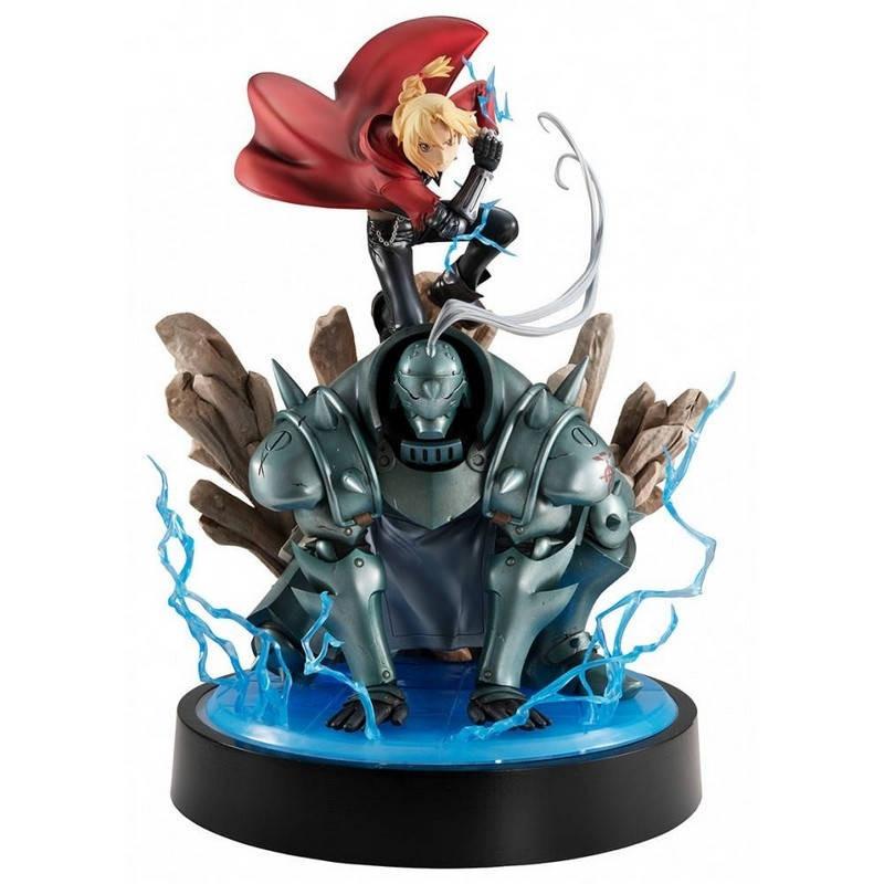 Fullmetal Alchemist - Figurine Edward & Alphonse Elric Precious G.E.M Series