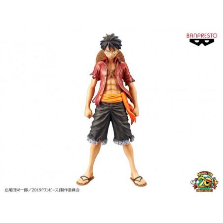 One Piece - Figurine Monkey D Luffy Stampede Movie DXF The Grandline Men Vol.1