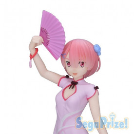 Re Zero : Starting Life in Another World - Figurine Ram PM Figure Dragon-Dress Ver.