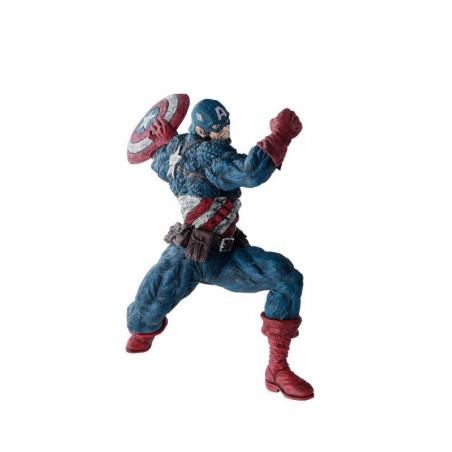 Captain America - Figurine Captain America Marvel Choujin Giga Ver.A