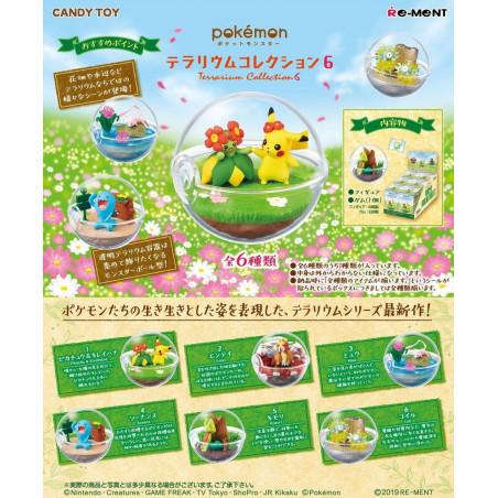Pokemon – Qulbutoké Pokéball Terrarium Vol.6