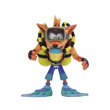 Crash Bandicoot - Figurine Deluxe Crash Bandicoot Scuba Gear