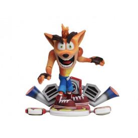 Crash Bandicoot - Figurine Deluxe Crash Bandicoot With Jet Board