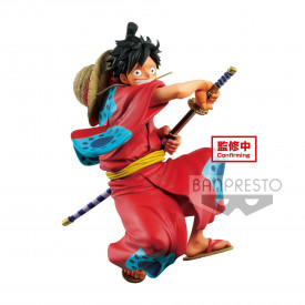 One Piece - Figurine Monkey D Luffy Wano Kuni King Of Artist