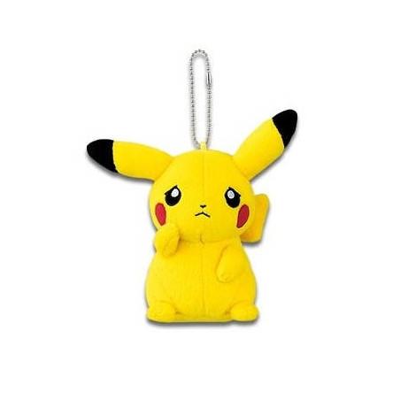 Pokémon - Peluche Strap Pikachu Mania Ver.A. Triste image