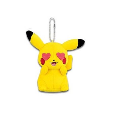 Pokémon - Peluche Strap Pikachu Mania Ver.D Amoureux image