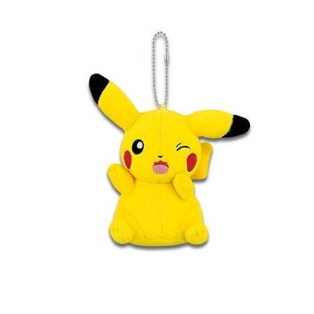 Pokémon - Peluche Strap Pikachu Mania Ver.E. Pleure image