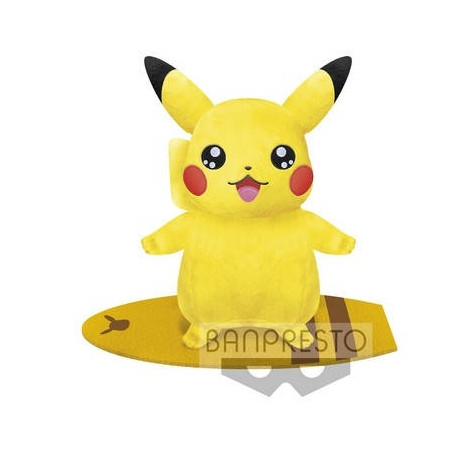 Pokémon - Peluche Pikachu Marine Style Surf Ver. image