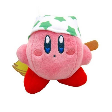 Kirby – Peluche Kirby Cleanning Ver. image