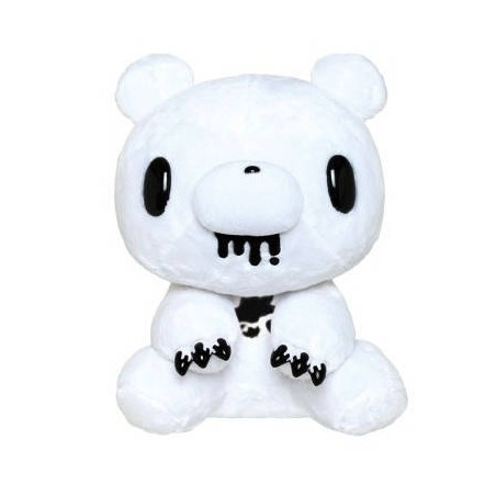 Gloomy The Naughty Grizzly - Peluche Gloomy Bear Assis Blanc Ver. image