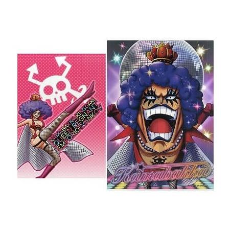 One Piece – Pochette A4 + Notebook Emporio Ivankov Ichiban Kuji Girls Collection image