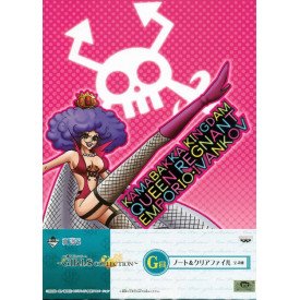 One Piece – Pochette A4 + Notebook Emporio Ivankov Ichiban Kuji Girls Collection