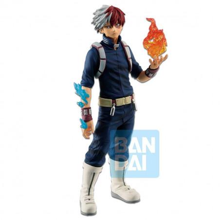 My Hero Academia - Figurine Shoto Todoroki Ichibansho Fighting Heroes feat One's Justice