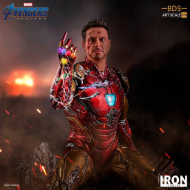 Avengers Endgame - Statue I Am Iron Man BDS Art Scale 1/10