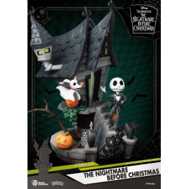 L'étrange Noel de Mr Jack - Diorama Jack Skellington The Nightmare Before Christmas D-Stage