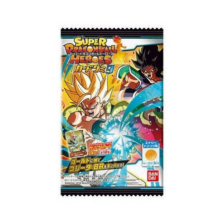 Super Dragon Ball Heroes - Pack 20 Booster Card Super Dragon Ball Heroes Gummy Part.9 image