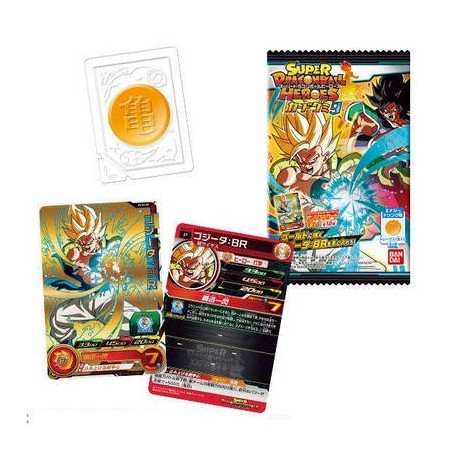 Super Dragon Ball Heroes - Booster Card Super Dragon Ball Heroes Gummy Part.9 image