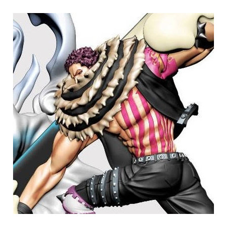 One Piece – Figurine Charlotte Katakuri Log Box Re Birth Whole Cake Island image