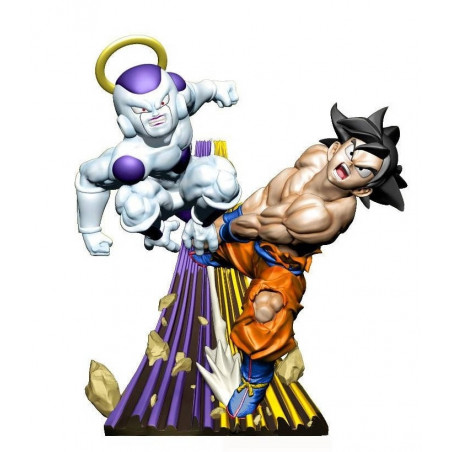 Dragon Ball Super – Figurine Son Goku & Freezer Dracap Re Birth Super Revival