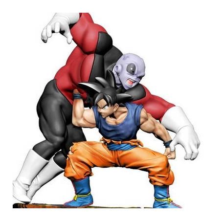 Dragon Ball Super - Figurine Son Goku & Jiren Dracap Re Birth Super Revival image