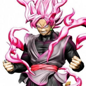 Dragon Ball Super - Figurine Black Goku Rose Dracap Re Birth Super Revival