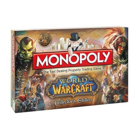 Monopoly World of Warcraft Ver. Anglaise image