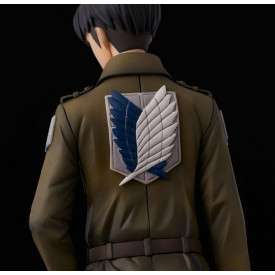 Attack On Titan - Figurine Livaï Ackerman Coat Style