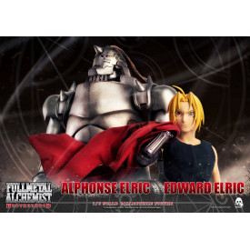Fullmetal Alchemist Brotherhood - Figurines Edward & Alphonse Elric Pack Exclusive