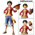 One Piece – Figurine Monkey D Luffy Grandista Nero